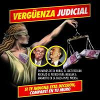 Rechazo Judicial a la indagatoria de Magnetto